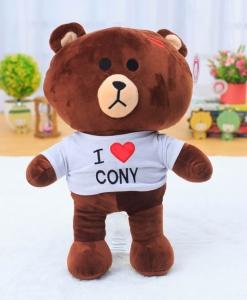 gau-brown-mac-ao-i-love-cony